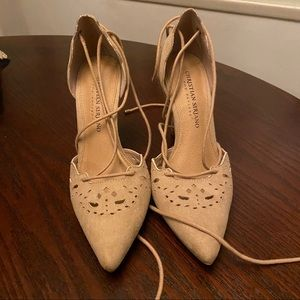 Christian Siriano for Payless Strappy Heels 5.5